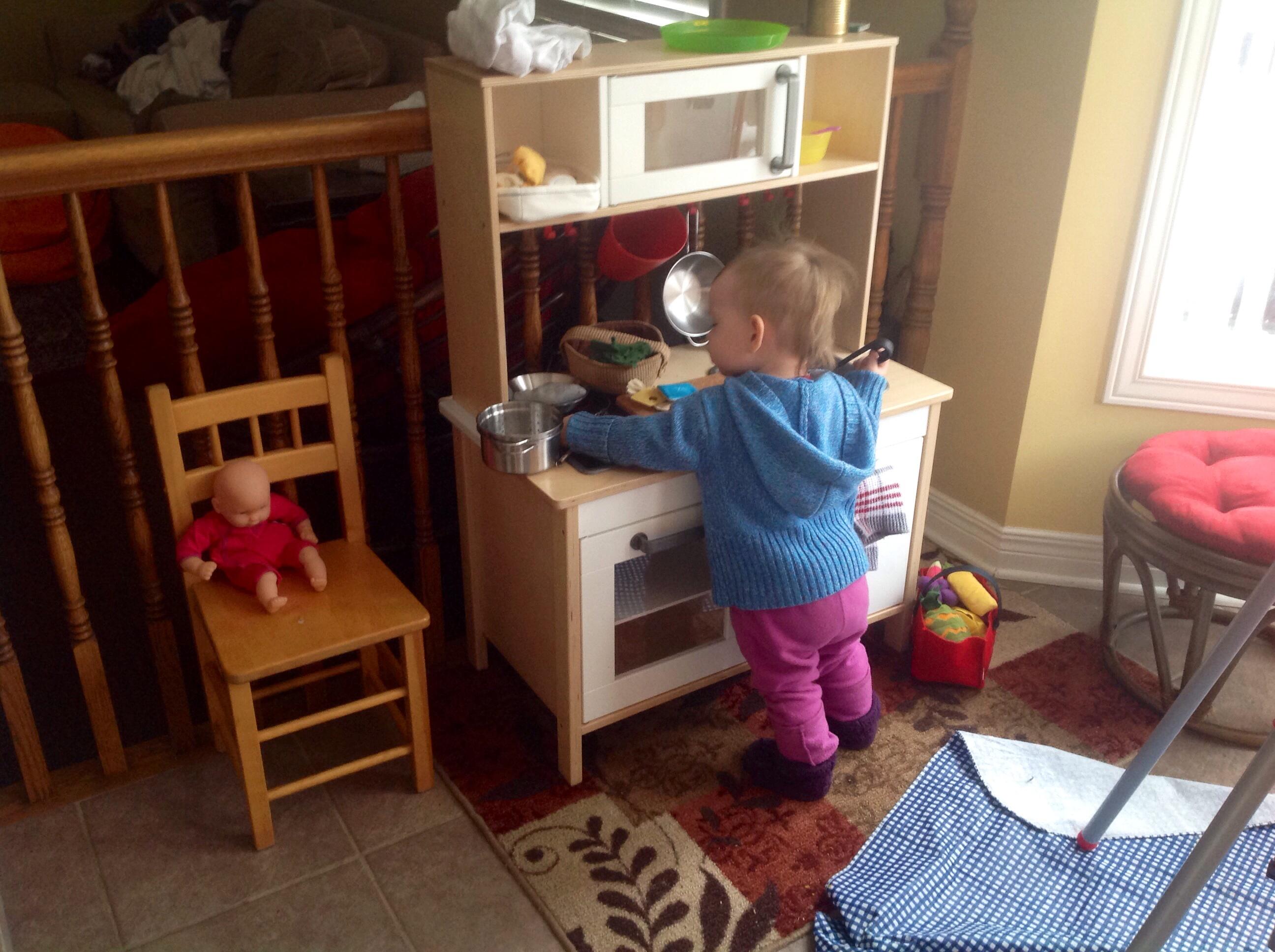 Wooden Kitchen Playsets