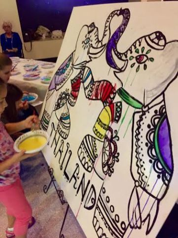 ART IN THE COMMUNITY AT HOUSTON MUSEUM OF NATURAL SCIENCE ART PARTIES/SPECIAL EVENTS