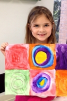 MS. ANGELINA TAUGHT US ABOUT KANDINSKY AND HIS ABSTRACT SQUARES!