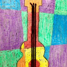 Picasso color theory guitar