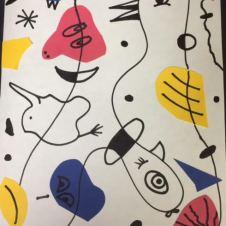 Miro-1 line surrealism