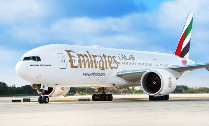 Emirates Airline banned from operating in Nigeria.