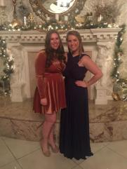 My beautiful roommate Maggie and I