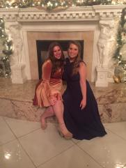 My lovely roommate Maggie kindly agreed to accompany me to my formal