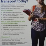 CQ University students – apply for concession fares on public transport today!