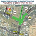 Detour in place along Barmaryee Road