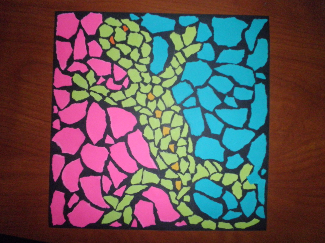 Animal Mosaic Lesson Plan - Elementary Art Educational