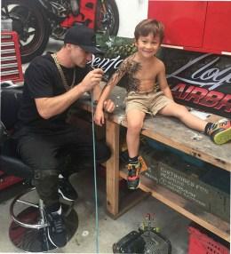 татуировки детям