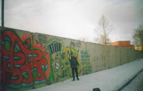 Работа весны 1998 года на Кременчугской улице. Nick, Lapa, Frame (Артём)2