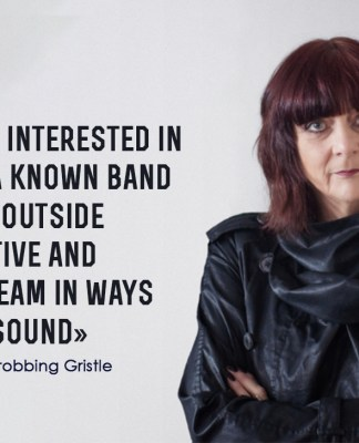 Interview with Cosey Fanni Tutti