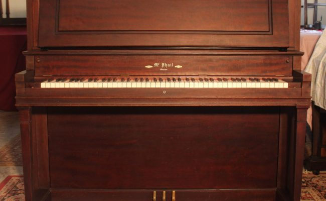 Mcphail Upright Serial 55036 1915 Young S Piano Shop