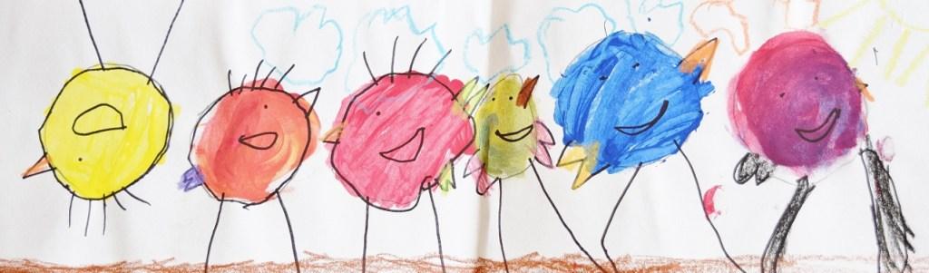 Kids Art - Birds