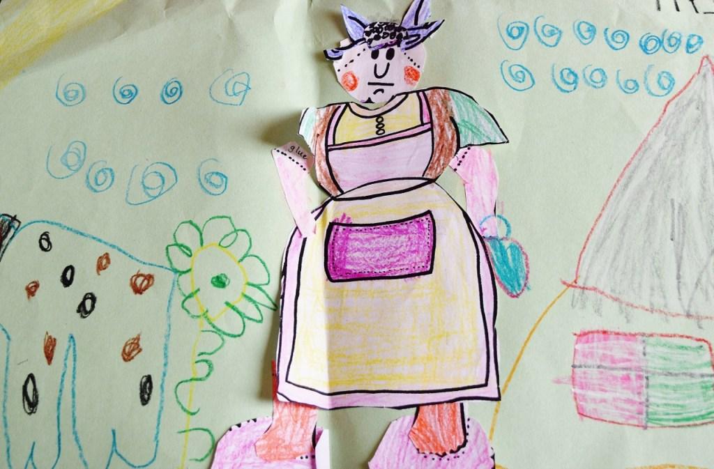 Kids Art - Little Old Lady