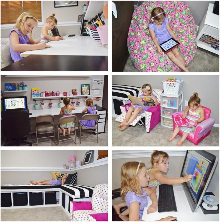 Young Stars Preschool - Learning Inside