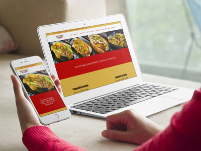 Hot Dawg Stop | Young's Web Designs | a Lafayette Website Design Company
