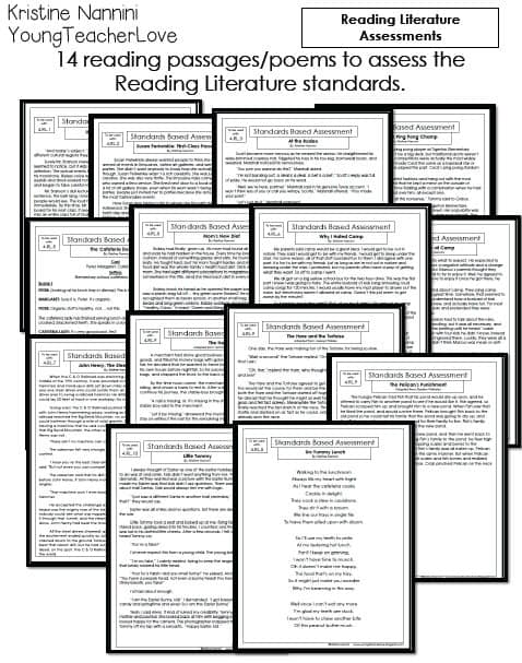 4th Grade English Language Arts/ Literacy Assessments and