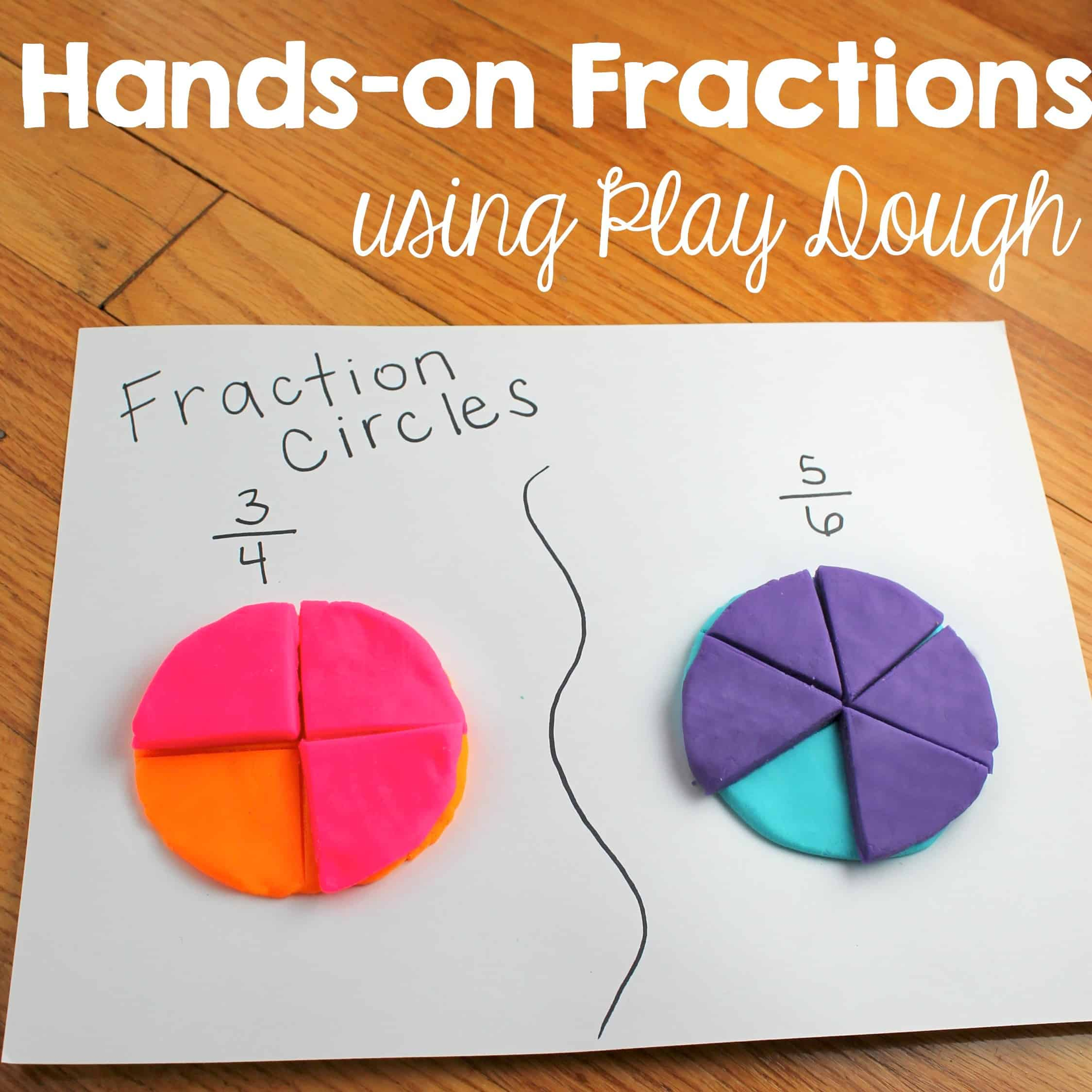 Fraction Anchor Chart Freebie And Hands On Fractions