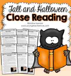 Fall and Halloween Close Reading Passages [ 2249 x 2249 Pixel ]