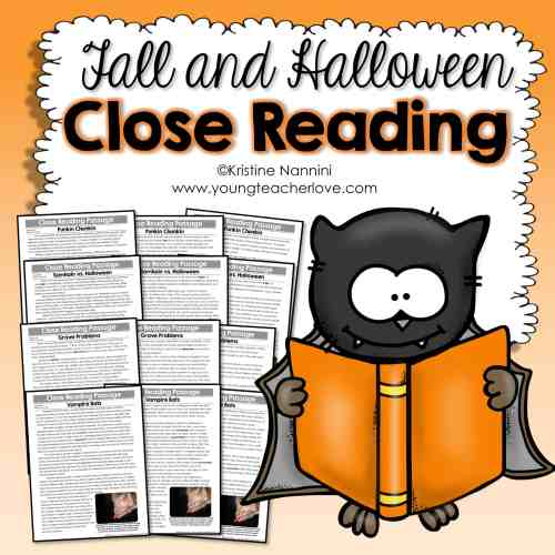 small resolution of Fall and Halloween Close Reading Passages
