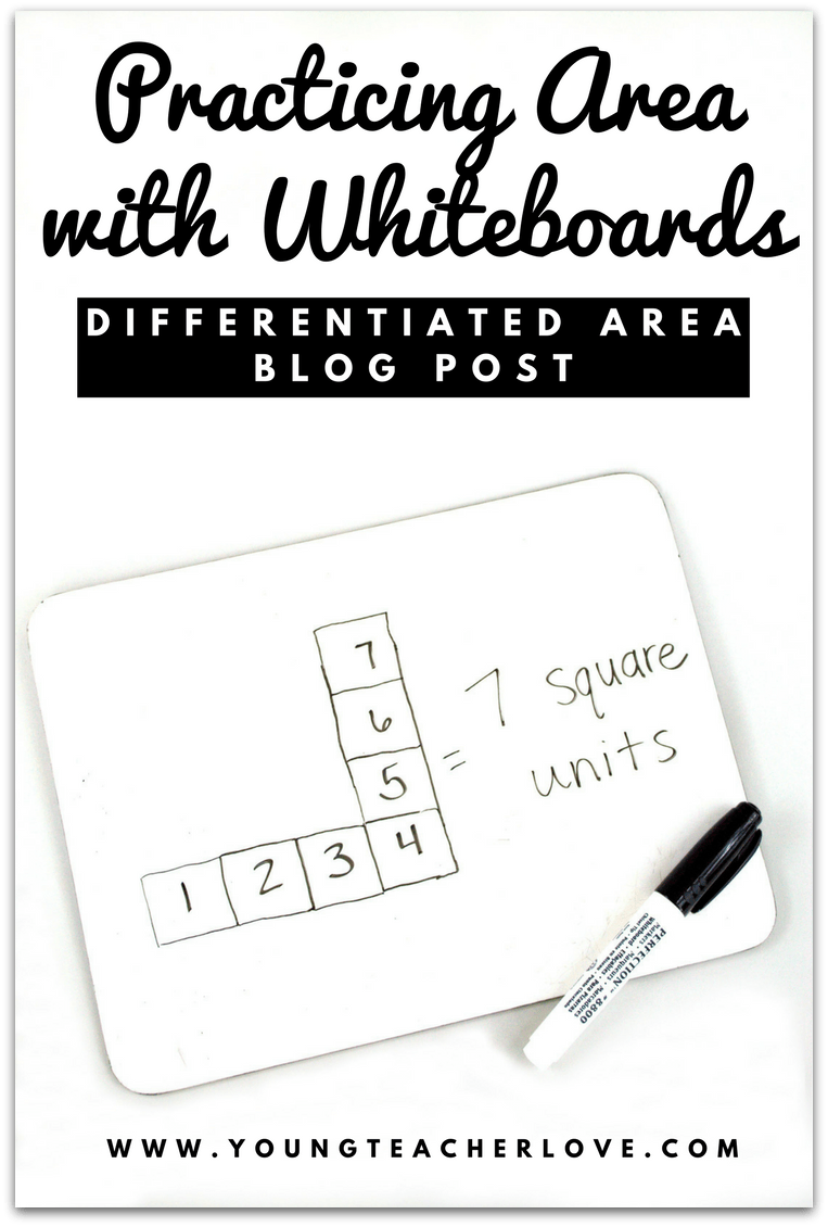 Teaching Differentiated Area in Math: Ideas to Make