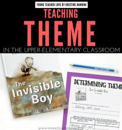 Teaching Literary Theme in Upper Elementary [ 1080 x 1080 Pixel ]