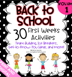 Virtual First Day Back to School: Lesson Plans and Activities - [ 1022 x 1020 Pixel ]