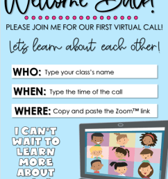 Virtual First Day Back to School: Lesson Plans and Activities - [ 1024 x 768 Pixel ]