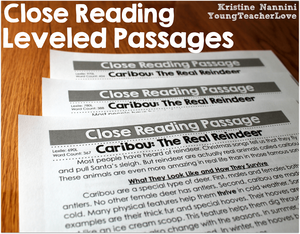 Close Reading Samples For Fifth Grade