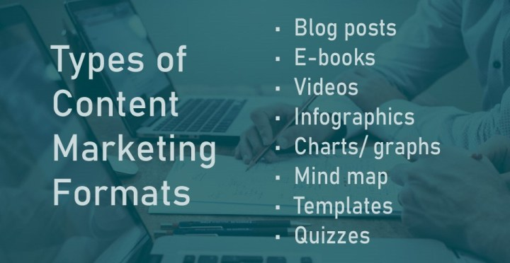 Types Of Content Marketing Formats 1
