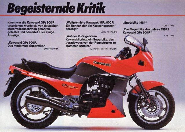 Kawasaki GPZ 900R