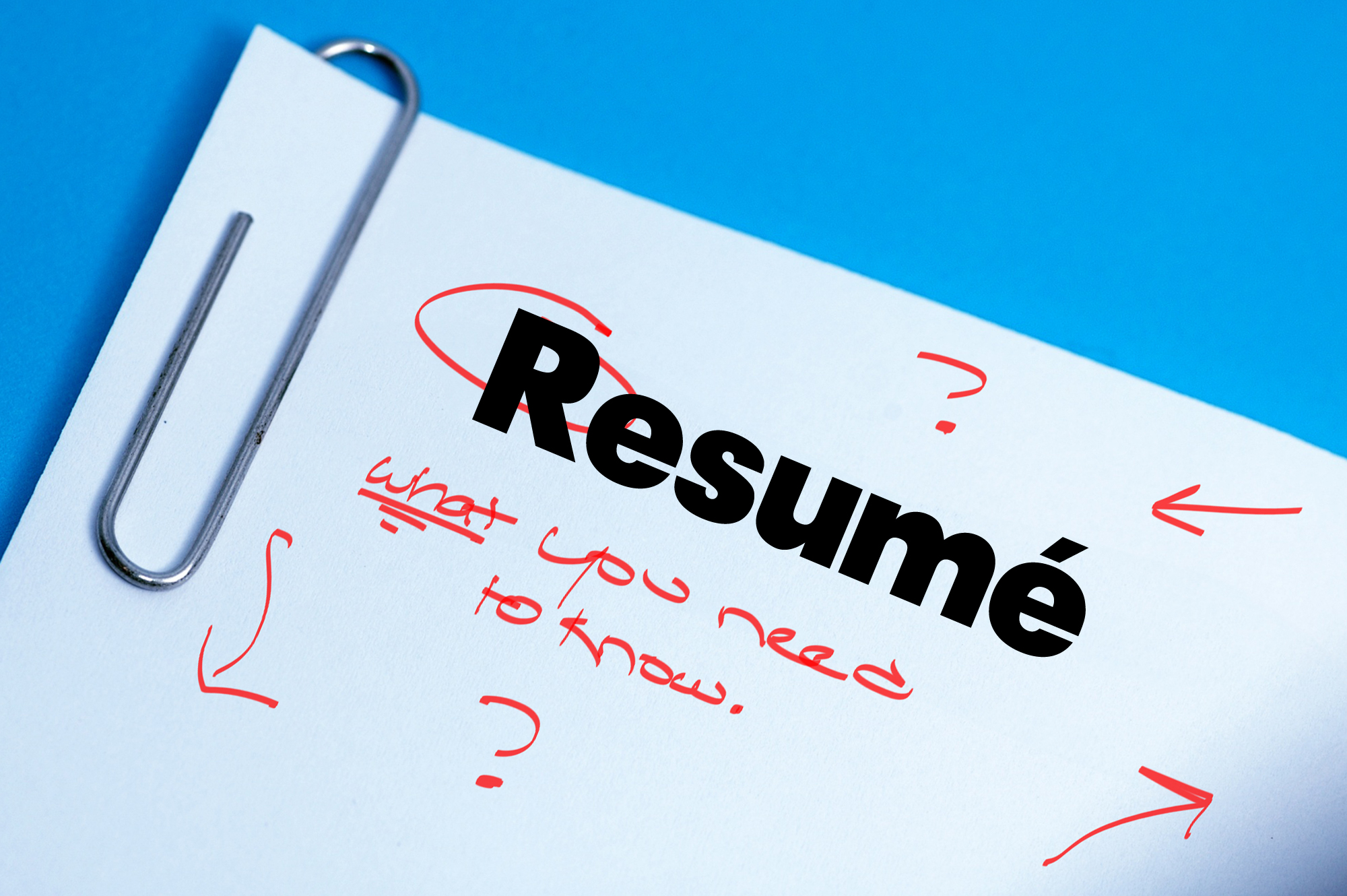 The Resumé Of Your Dreams What You Need To Know To Make