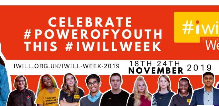 #Iwillweek2019:                Young Ambassadors are stepping up to lead.            'Yes you can, together #wewill'