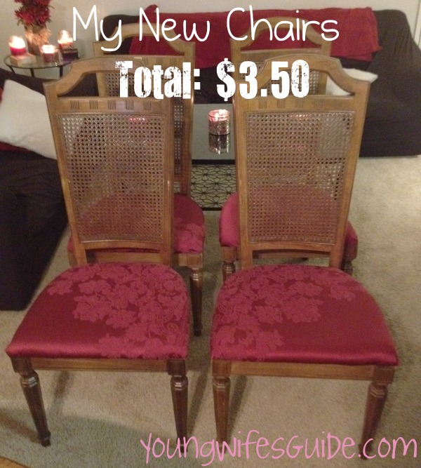 The end Product-Recover Old Chairs