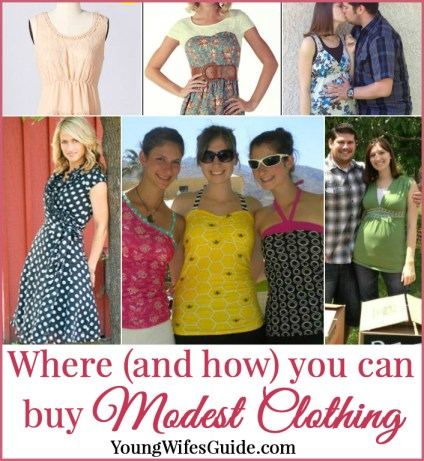 Where to buy modest clothing