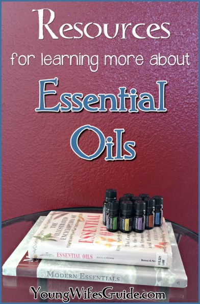 Resources for learning more about essential oils