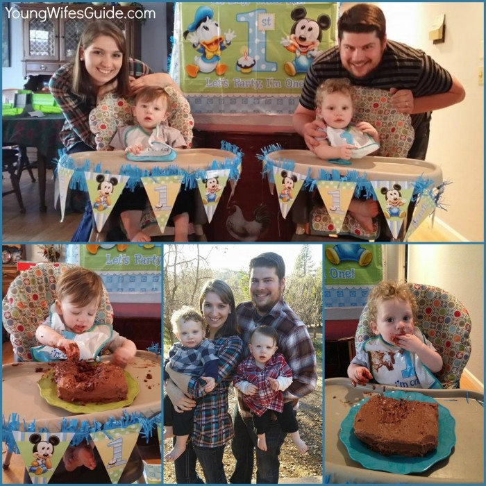 Twin's First Birthday Party