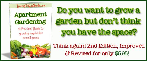 Bon Apartment Gardening Banner