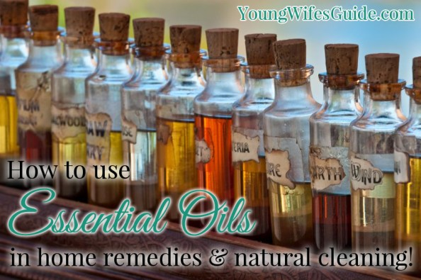 How I use essential oils everyday in home remedies and for natural cleaning!