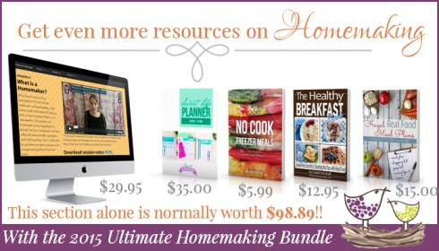 More Homemaking Resources
