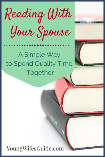 Reading with my husband is perhaps the single most bonding thing that we do together! Here's how we do it: