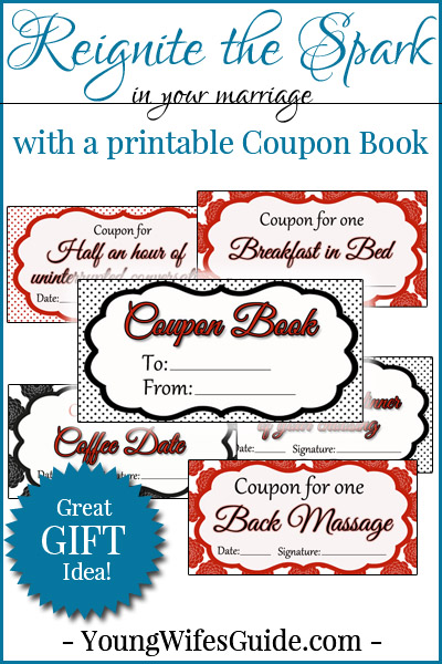 Coupon Book Printables