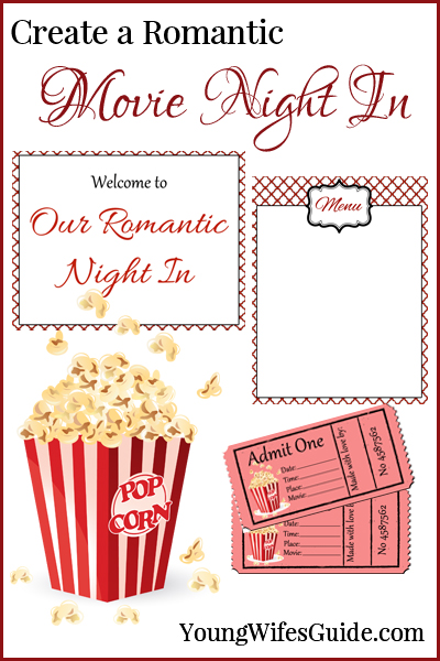 Create a Romantic Movie Night In