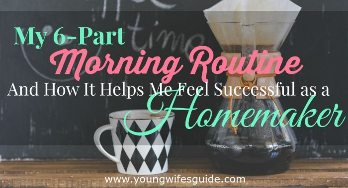 my 6-part morning routine FB