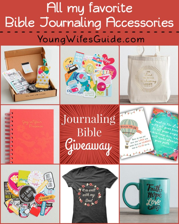 Journaling Bible Accessories