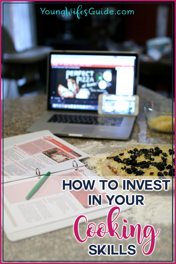 How to invest in your cooking skills