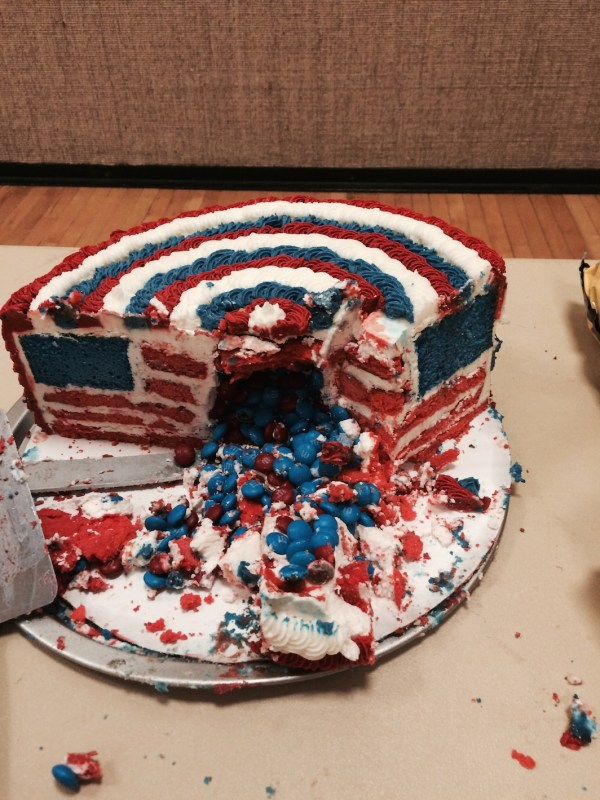 4th July cake