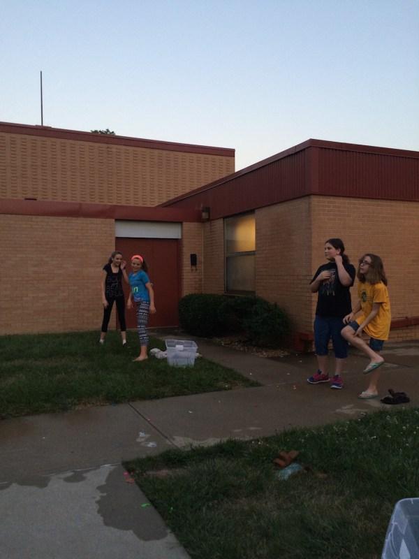 Water Balloon Volleyball Mutual Activity