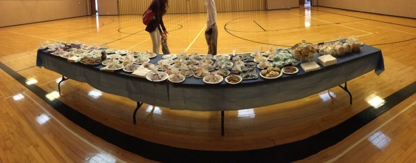 Panoramic of Bake Sale