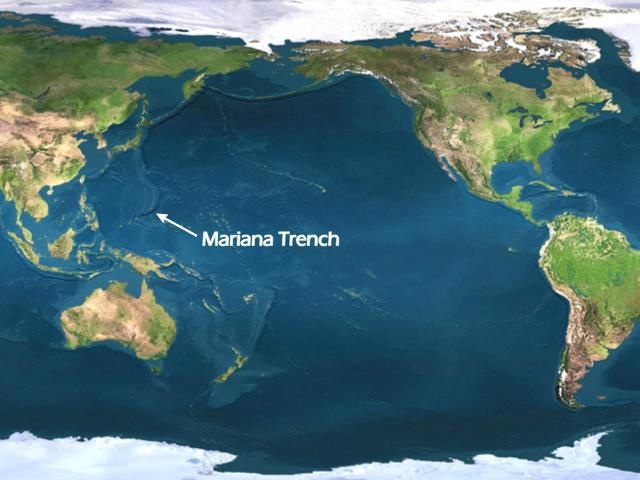 Image result for photos of the Marianas Trench