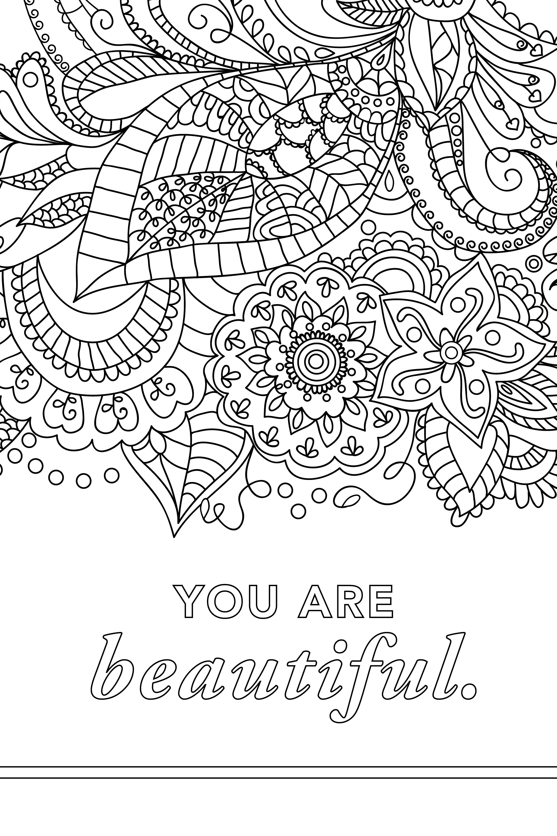 Empowering Coloring Pages